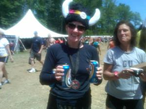 Warrior Dash Beer