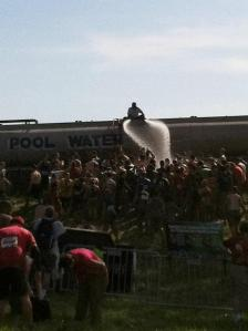 Warrior Dash Shower