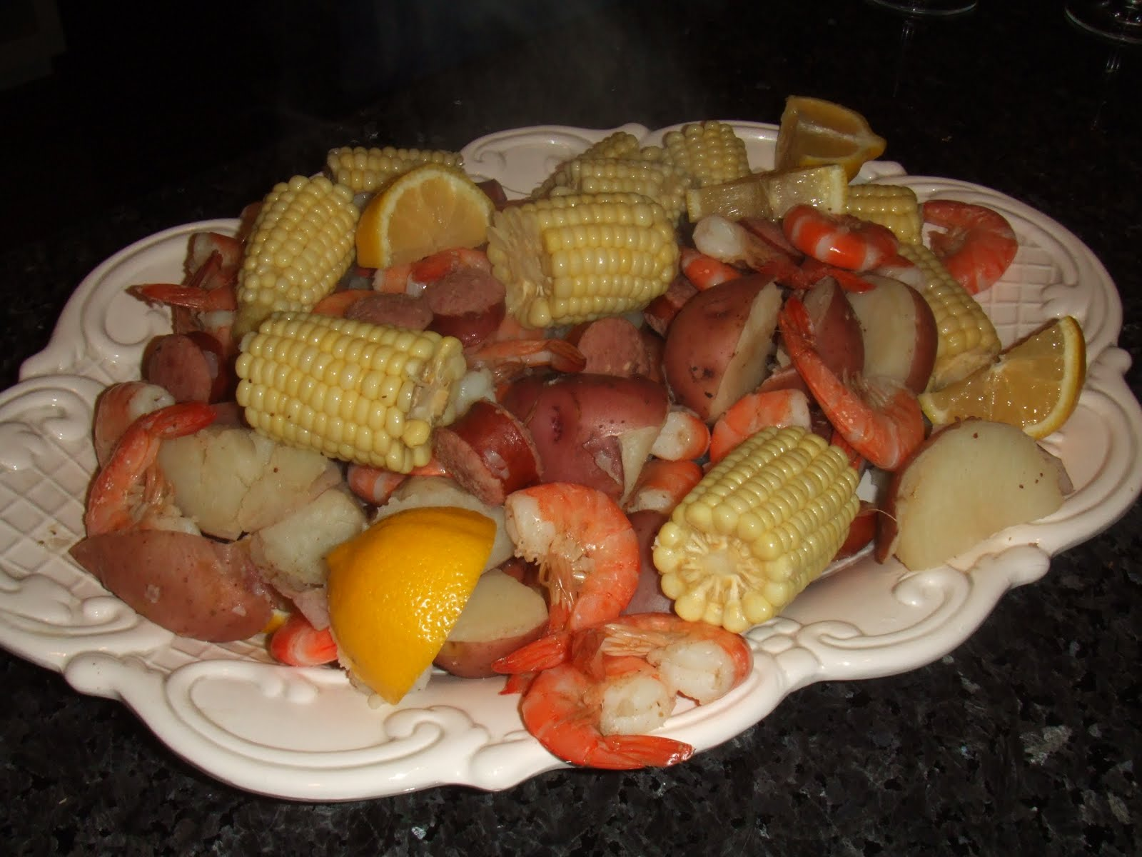 Frogmore Stew the Right Way. No Clams. No Mussels. No starchy water.