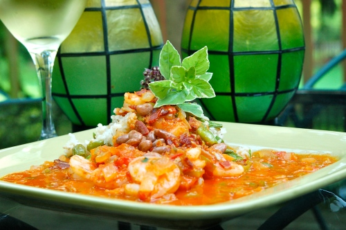 GrowDammit Shrimp Creole