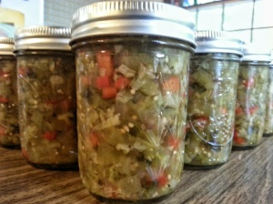 green tomato chow chow